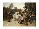 The Christening, 1863 Giclee Print by Emile Antoine Bayard