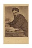 Vsevolod Garshin, Russian Short Story Writer Giclee Print by Ilya Efimovich Repin