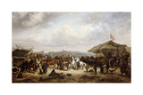 The Horse Fair, 1863 Giclee Print by Adolf Friedrich
