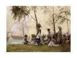 The Maiden's Isle, Zanzibar Giclee Print by Maurice Randall