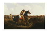 The Check - Keep Your Distance, 1852 Giclee Print by Arthur Fitzwilliam Tait