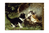 Any Room in the Basket Julius Adam (1826-1874) Giclee Print by Julius Adam