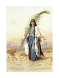 Fadimeh, the Daughter of Aghile Agha Giclee Print by Carl Haag