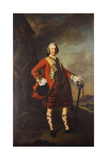 Portrait of John Campbell, 4th Earl of Loudon (1705-1782), Full-Length, in the Uniform of His… Giclee Print by Allan Ramsay