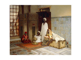 Guards of the Harem Giclee Print by Ludwig Deutsch