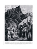 The Surrender of Stirling Castle; July; Ad1304 , 1920's Giclee Print by Frank Gillett