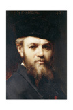 A Self Portrait, 1877 Giclee Print by Jean-Jacques Henner