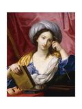 Melpomene, the Muse of Tragedy Giclée-tryk af Elisabetta Sirani