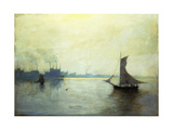 Greenpoint, Long Island Giclee Print by Lowell Birge Harrison