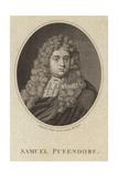 Baron Samuel Von Pufendorf Giclee Print by Michael van der Gucht