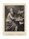 St Hieronymus Giclee Print by  Domenichino
