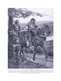 King Dermot Carries Off Devorgil, 1920's Giclee Print by Richard Caton II Woodville