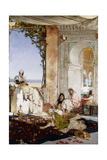 Women in a Harem in Morocco; Femmes De Harem Au Maroc, 1875 Giclee Print by Jean Joseph Benjamin Constant