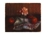 Roses and Persimmons Giclee Print by William James Glackens
