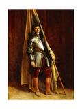 A Man of War; Un Homme De Guerre Giclee Print by Jean-Louis Ernest Meissonier