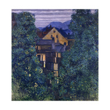 Overview of Payerbach, in the Background the Rax; Durchblick Durch Payerbach,Im Hintergrund Die… Giclee Print by Kolo Moser