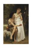 First Jewellery; Premier Bijoux, 1891 Giclee Print by William Adolphe Bouguereau