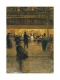 The Night Cafe Giclee Print by Luigi Loir