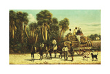 The Cotton Wagon Giclee Print by William Aiken Walker