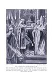 The Coronation of Richard I, 1920's Giclee Print by Richard Caton II Woodville