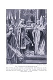 The Coronation of Richard I, 1920's Giclee Print by Richard Caton Woodville II
