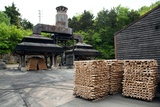 Charcoal Furnace at Jack Daniels Whiskey Distillery in Lynchburg Tennessee Photographic Print