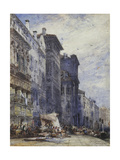 The Market Place, Coburg Giclee Print by William Callow