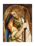 Saint James the Greater Giclee Print by Carlo Crivelli