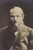 Fyodor Dostoyevsky, Russian Novelist and Short Story Writer Reproduction photographique