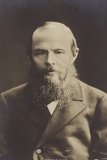 Fyodor Dostoyevsky, Russian Novelist and Short Story Writer Photographic Print