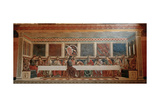 The Last Supper Giclee Print by Andrea Del Castagno