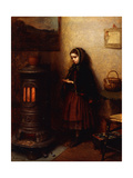 Warming Her Hands, 1862 Giclee Print by Eastman Johnson