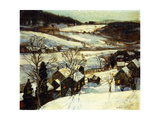 Winter Twilight Giclee Print by George Gardner Symons
