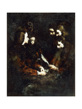 The Letter Giclee Print by Auguste Theodule Ribot
