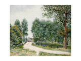 The Saint-Mammes Path, Morning; Le Chemin De Saint-Mammes, Le Matin, 1890 Giclee Print by Alfred Sisley