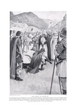 The Council of Dacor, 1920's Giclee Print by Archibald Webb