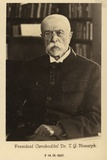 Tomas Garrigue Masaryk Photographic Print