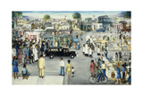 City Scene Giclee Print by Pieter van den Keere