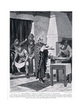 The Murder of Thomas Woodstock, Duke of Gloucester Ad1336, 1920's Giclee Print by Frank Gillett
