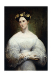 Princess Marie Christine D'Orleans, 1830 and 1831 Giclee Print by Ary Scheffer