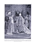 The Papal Legate Tramples on John's Tribute Ad1213, 1920's Giclee Print by Richard Caton II Woodville