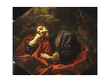 Jacob's Dream Giclée-tryk af Carlo Dolci