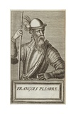 Francisco Pizarro Giclee Print by Andre Thevet