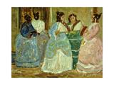 Colonial Scene; Escena Colonial Giclee Print by Pedro Figari