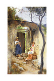 The Garden Door, 1906-1907 Giclee Print by Charles Caryl Coleman