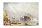 Portsmouth Harbour from Gosport Giclee Print by George Sidney Shepherd