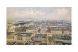 Panorama of Vienna, 1871 Giclee Print by Rudolph von Alt