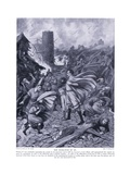 The Whirlwind of Ad1091, 1920's Giclee Print by Frank Gillett
