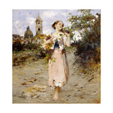 The Grape Harvest Giclee Print by Vicenzo Irolli