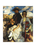 Juan and Juanita Giclee Print by Francis Luis Mora
